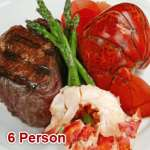 Lobster Tail & Filet Surf N' Turf (6 Person)